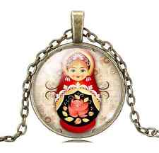 Russian Doll Design Necklace