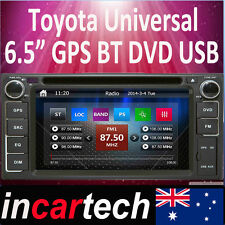 GPS Navigation For Toyota Hilux Corolla Camry Kluger Rav4 Yaris Parado Bluetooth