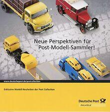 Prospekt Deutsche Post Modellautos Perspektiven Modell Sammler Automodelle