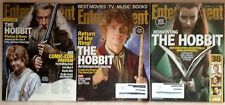 Lot 5 Hobbit: 3 Entertainment Weekly July, December 2012, November 2013 +2 clips