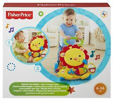 Fisher Price León Andador Musical Educativo niño primeros pasos saldo