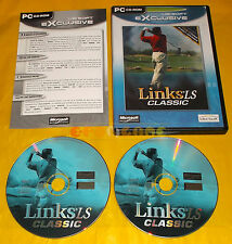 LINKS LS CLASSIC Pc Versione Italiana ○○○○ COMPLETO - CY