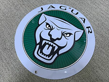 Jaguar sign reproduction high quality baked resin metal round green