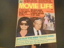 Nancy Sinatra, Liza MInnelli, Tom Jones, John Wayne - Movie Life Magazine 1970