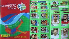 WM / Germany World Cup 2006 / Pocket Mini Album / Panini + 10 Sticker-Bögen