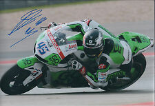Scott REDDING SIGNED MOTO GP Photo AFTAL COA Autograph HONDA Gresini Red Bull