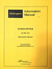 EuroCopter AS 350-BA Helicopter Pilot's Information Manual