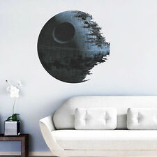 Removable Death Star Wars Wall Sticker Art Vinyl Decals Kids Bedroom Home Decor