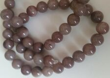 Aventurine Beads 8mm Round - Full strand Semi Precious Gemstone - Purple