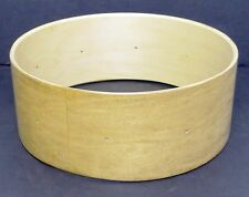 """Keller 10-Ply Maple 14"""" x 5.5"""" Snare Drum Shell, New with Bearing Edges & Beds"""