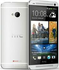 HTC One M7 - 32GB - Silver (Unlocked) 4G Smartphone Sim Free (Brand New)