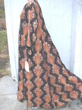 Vintage Antique Victorian Paisley Wrapper Robe VGC L Cretonne 1870