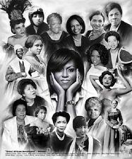 Great African American Women (Black History - 11x8.5 inches - Unframed Art )