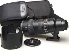 Nikon NIKKOR 70-200 mm f2.8 G VR IF ED AF-S ED.