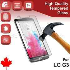 LG G3 D852 Premium Clear Tempered Glass Screen Protector from Canada