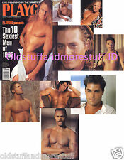 PLAYGIRL 9-92 SEPTEMBER 1992 SUPERHOT KEVIN CLINE! BLONDS! RAY LIOTTA DAMIAN LEE
