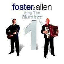 FOSTER AND ALLEN ~ Sing The Number1's NEW SEALED 2 CD SET