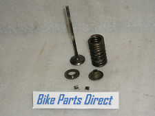 Yamaha YZF-R6 (5EB Model) exhaust valve c/w spring, retaining washers & collets