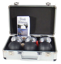 French Boules Petanque Game In Case Garden Games Beach Games Family Games Balls