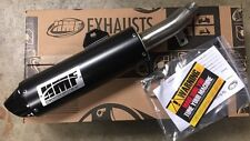 Honda TRX 400EX 1999-2015 HMF performance Series Slip On Exhaust BLK/BLK Euro