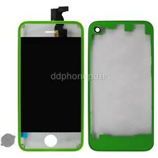 Green LCD Screen Touch Digitizer + Home Button Back Cover for iPhone 4 CDMA