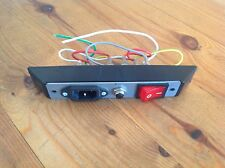 REEBOK EDGE SERIES 2.2 POWER SWITCH/CIRCUIT BREAKER AND POWER LEAD INPUT SOCKET