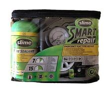 Slime Car Emergency Flat Tyre Repair Sealant Tire Smart Kit With Air Compressor