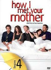 How I Met Your Mother - Alla Fine Arriva Mamma - 4^ Stag. - Cof. 3 Dvd - Nuovo