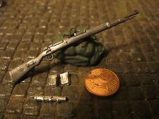 WWII Wehrmacht Gewehr Karabiner 98K K98 Zielfernrohr Sniper Deko Zubehör 1/16