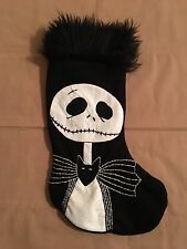 Nightmare Before Christmas JACK SKELLINGTON Christmas STOCKING Handmade - NEW!