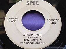 Hear Rare Private Country Bopper 45 : Roy Price & The Moonlighters ~ Starry Eyed