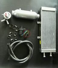 """4"""" x 8"""" Water to air charge cooler intercooler kit for turbo and supercharger"""