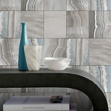 Paste the Wall Teal and Grey Marble Tile Wallpaper Kitchen and Bathroom 414530