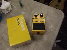 Boss Overdrive OD-1 Distortion Guitar Effect Pedal Vintage Japan 1984 w/ box