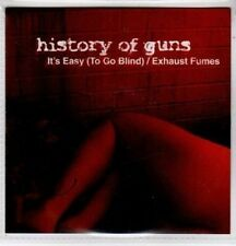 (BO827) History of Guns, It's Easy (To Go Blind) - 2008 DJ CD
