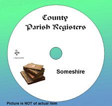 Somerset  Complete Phillimore 15 volumes   Plus Extra Parish Registers