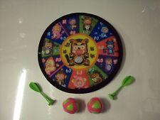 Sicurezza Indoor personaggio dei cartoni animati Dart Board 20cm con freccette giocattolo gioco bambini