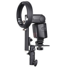 Speedlite Bracket type L with Canon/Nikon Hot-shoe for Bowens-S mount