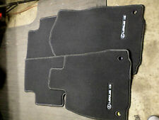 FLOOR MATS SET OF 4 LEXUS IS250 IS350 RWD BLACK FRONT REAR OEM 14 15 no miles