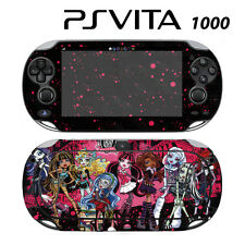 Vinyl Decal Skin Sticker for Sony PS Vita PSV 1000 Monster High Ghoul Bloody Dol