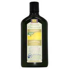 Organics Clarifying Shampoo - Lemon by Avalon for Unisex - 11 oz Shampoo