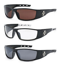 3 PAIRS Choppers Sunglasses Motorcycle Riding Glasses UV400 COMBO - C50