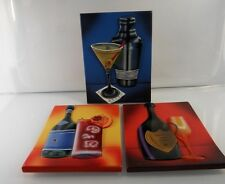 Will Rafuse of Drink Accent Art Tiles Set of 03