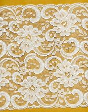 Ivory Rigid Lace Trimming 4mts 24cm Wide