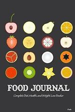Food Journal: Complete Diet, Health, and Weight Loss Tracker - Fruit by...