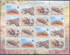 Mozambique Wwf World Wildlife Fund Ground Pangolin Sheet Of 16