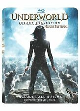 Underworld The Legacy Collection NEW 4-DISC BLU-RAY SET Awakening Evolution Rise