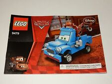 Lego Disney Cars #9479 Instruction Manual Book