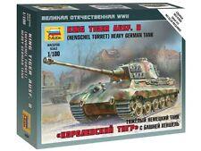 6204 KING TIGER AUSF. B - GERMAN HEAVY TANK  ( HENSCHEL TURRET ) - WW2 - 1/100