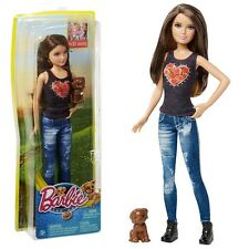 Barbie - Family Doll Skipper with Dog - The Great Puppy Adventure